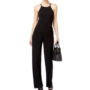 Michael Kors Jumpsuit Criss Cross Strappy Halter